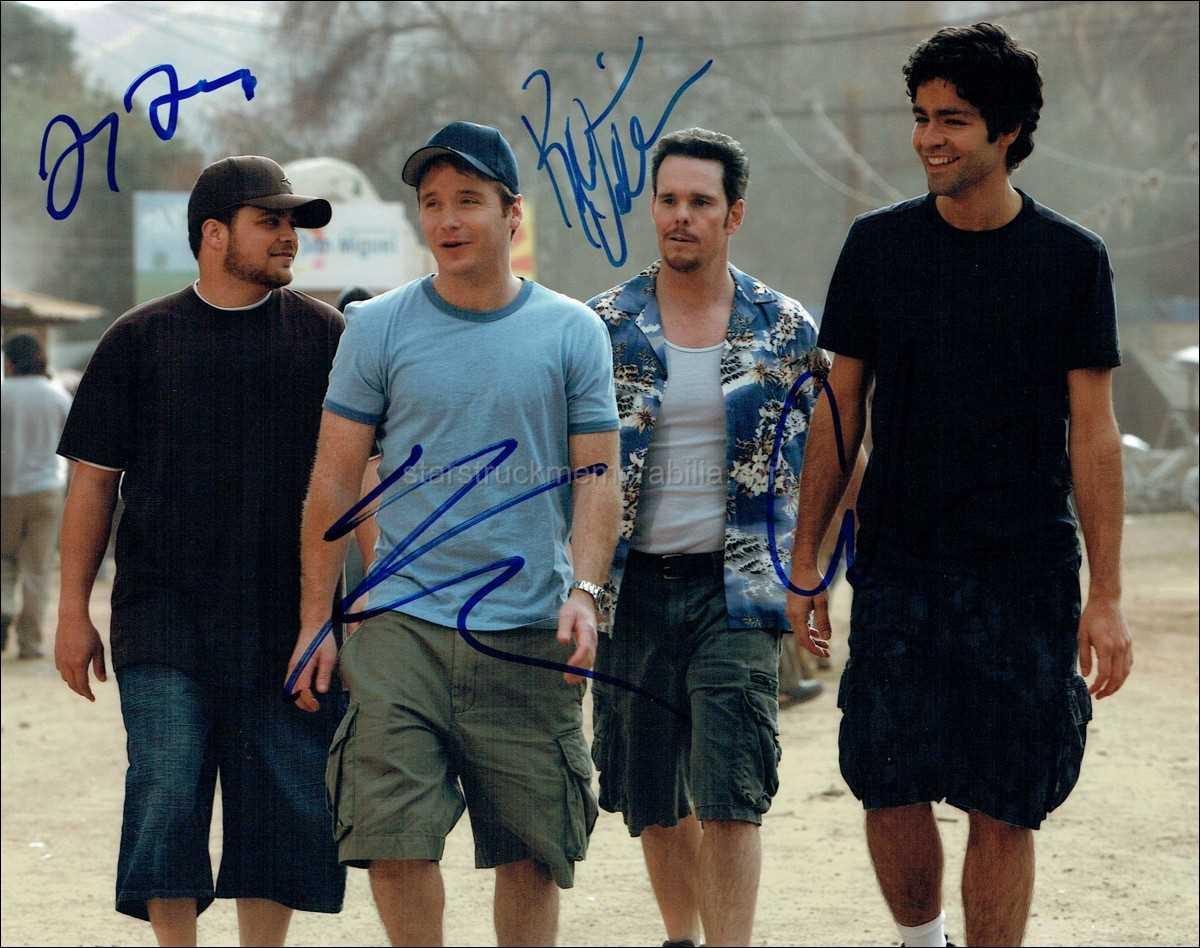 Entourage Signed 10x8 Photo Autograph