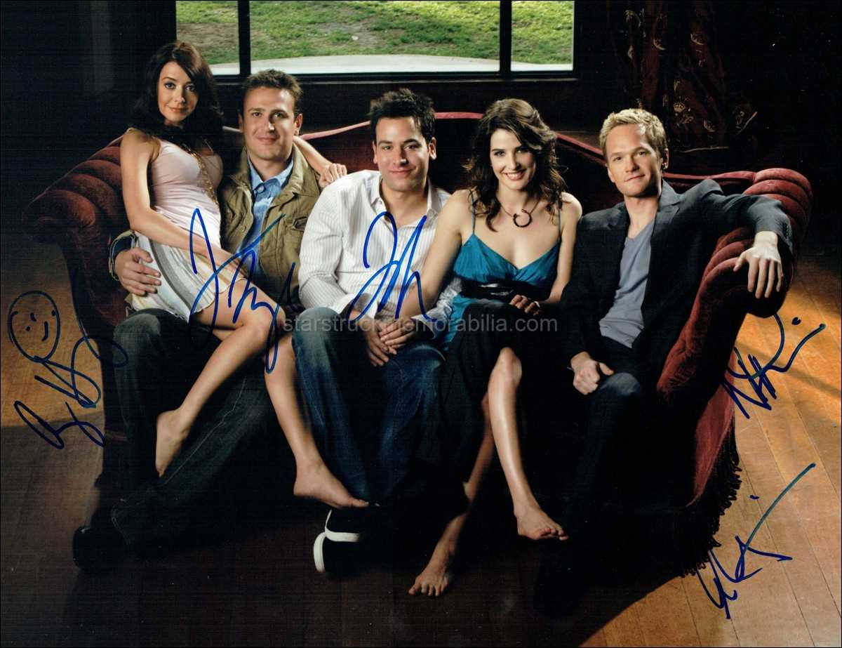 How I Met Your Mother Signed 14x11 Photo Autograph