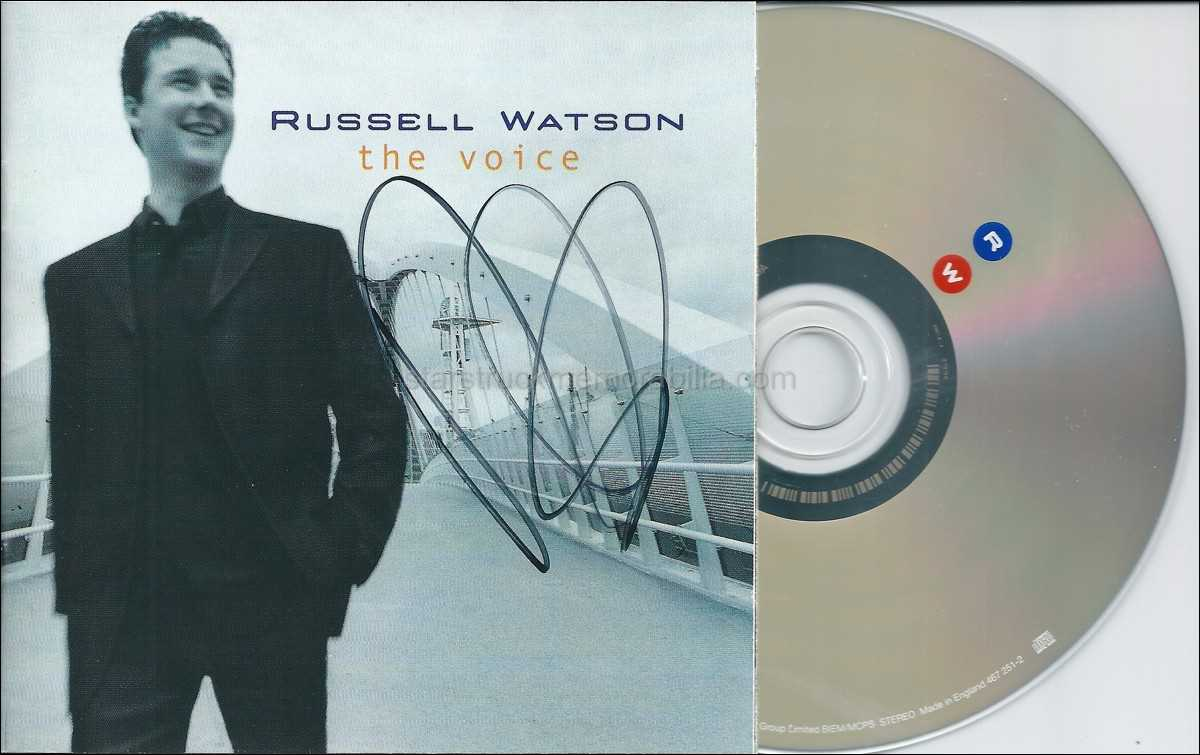 Russell Watson Signed CD Autograph