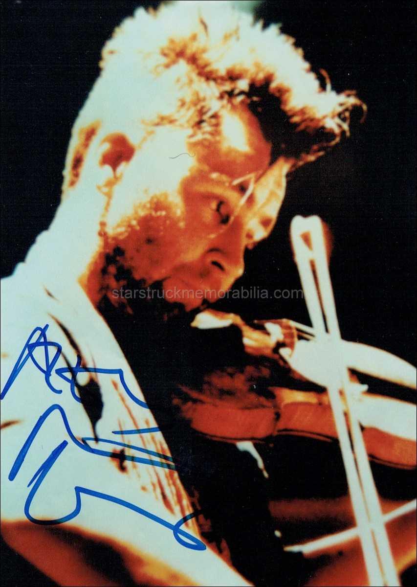 Nigel Kennedy Signed 7x5 Photo Autograph